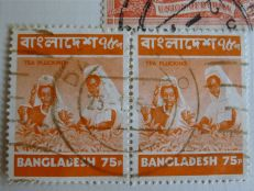Bangladesh stamp - Tea, Camellia sinensis