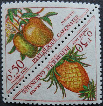 Gabon - mango, pineapple