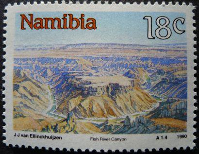 Namibia: Fish River Canyon, 1990