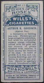 Rose, Arthur R Goodwin