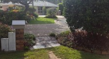 The garden suburb: Debra's footpath garden frames and enhances her view across the street