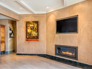 Contemporary Fireplaces Interior details