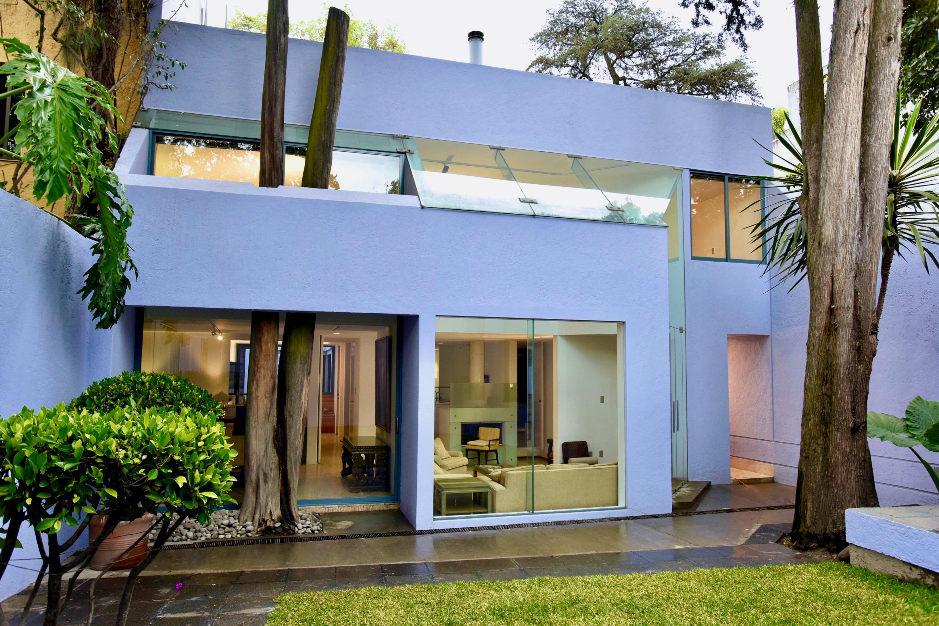 Casa Lila Home Architecture Mexico City.