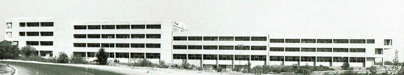 CONACYT Headquarters at UNAM Mexico City. 1980 Under Construction.