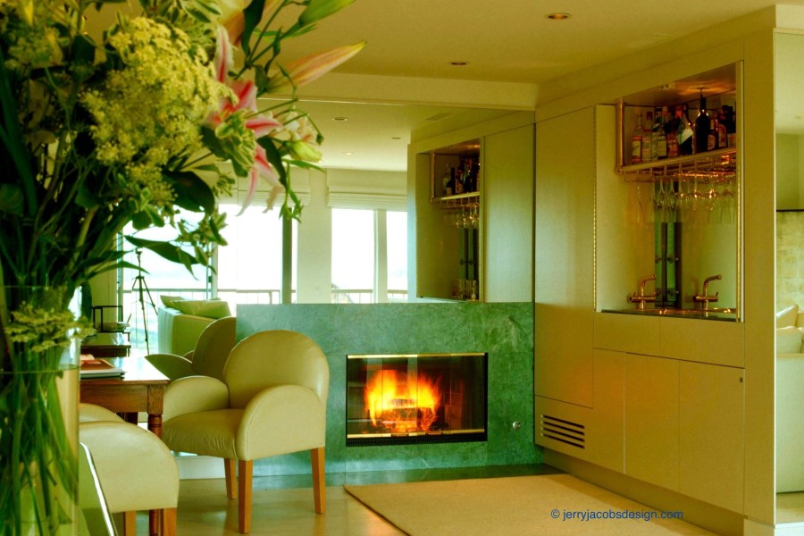 Tiburon apartment. Jerry Jacobs design