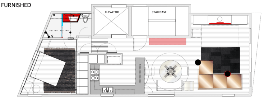 Downsizing Tiburon Condominium floor plan