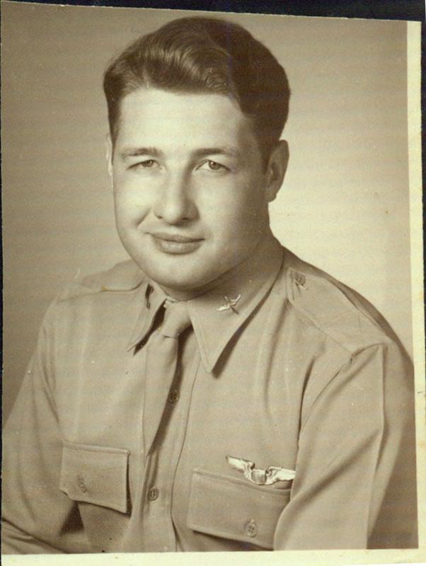 Clarence Raymond Schorer in USAF uniform