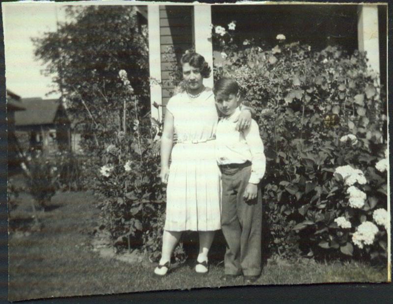 Lillian (Towner) Shorer and Clarence Raymond Schorer