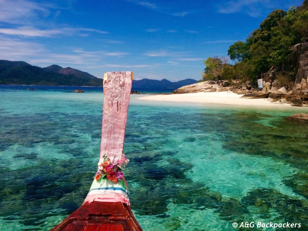 Longtail boat in Koh Lipe Andaman Sea Thaïland
