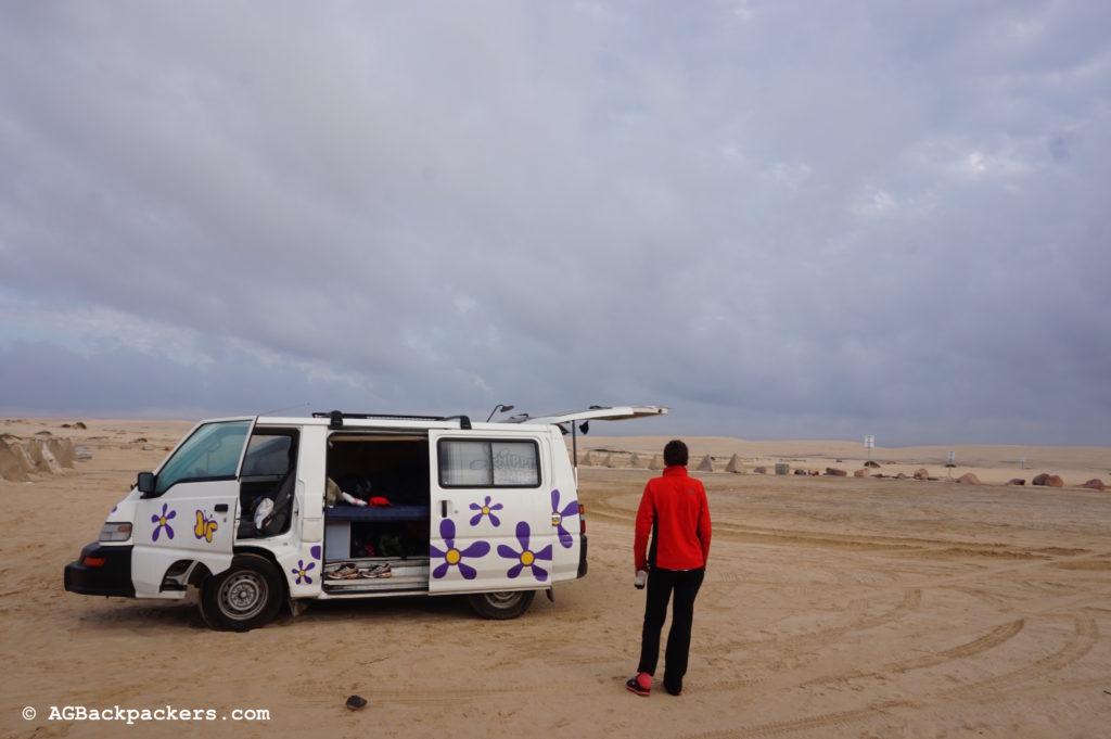 Camping Australie Desert