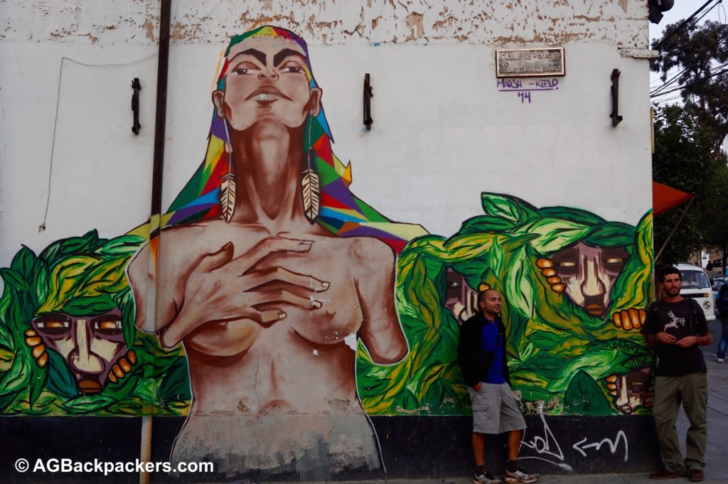 Dans les rues de La Paz avec Matt