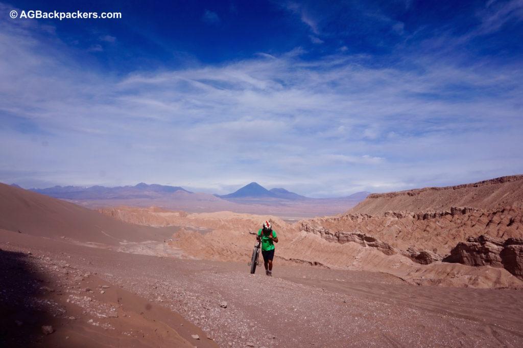 San Pedro de Atacama - valle de la muerte