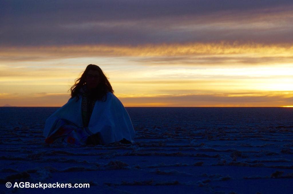Lever du soleil salar de Uyuni Sud Lipez Uyuni Bolivie