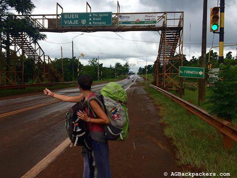 Stop Argentine direction iguazu