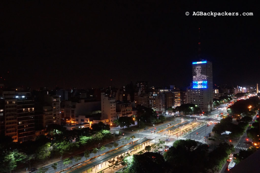 Avenue 9 de Julio Buenos Aires