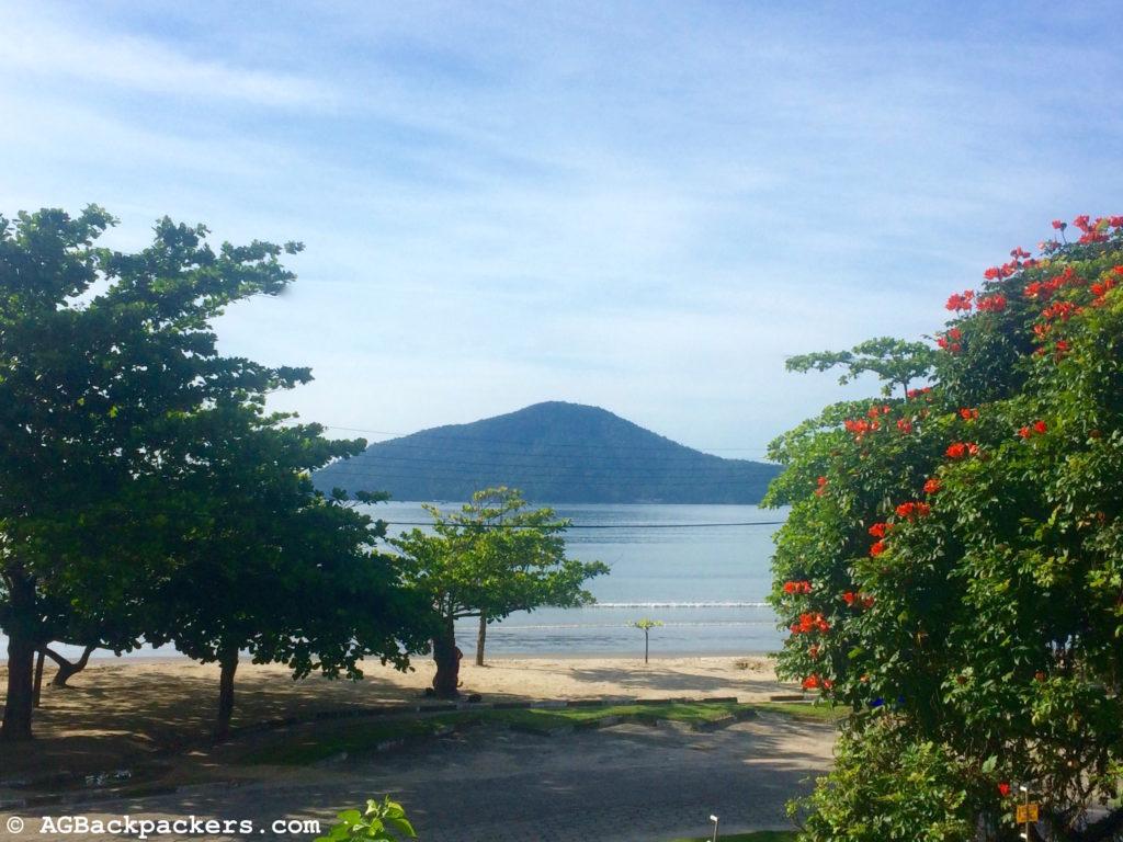 Ubatuba vue chambre green heaven hostel