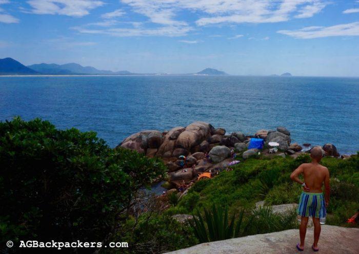 Piscine naturel Barra de Lagoa Florianopolis