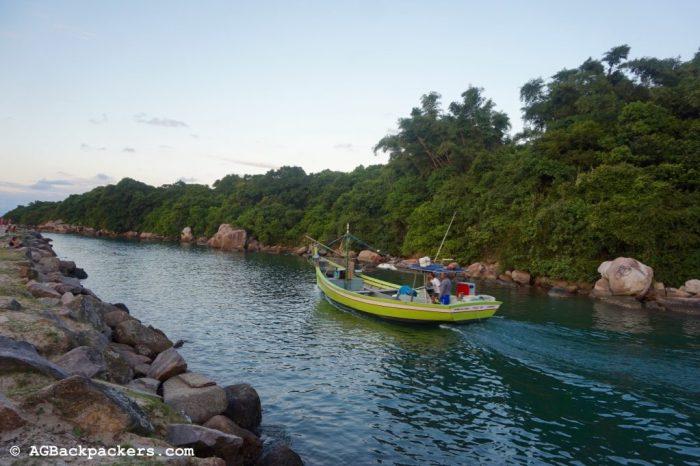 Rivière à Barra do Lagoa Florianopolis