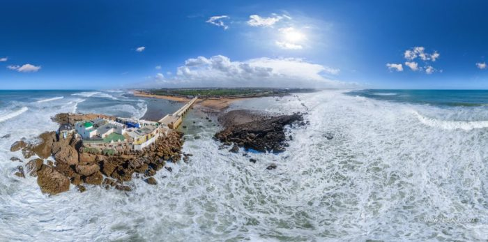 Panorama of Sidi Abderrahman Casablanca, Morocco by AirPano