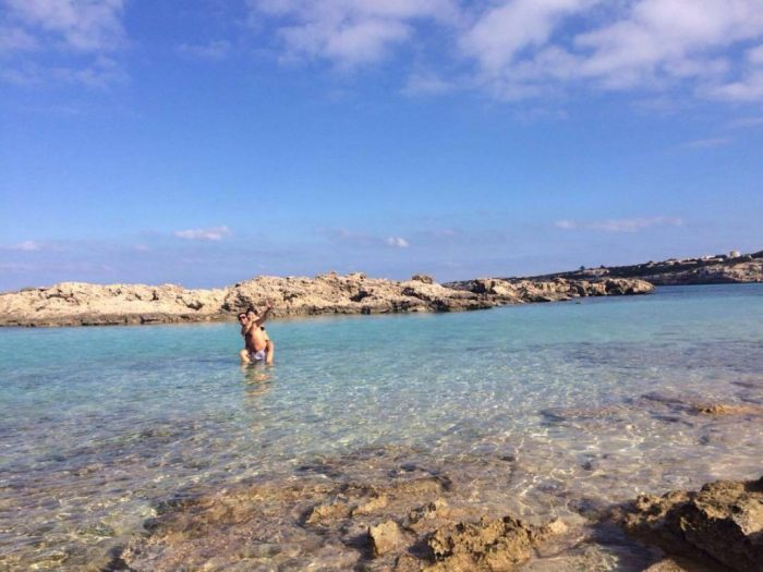 Playa de es Puyol - IBIZA
