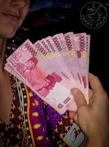 Billetes rupia indonesia