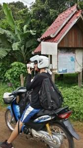 Paseando por el Bolaven Plateu en moto