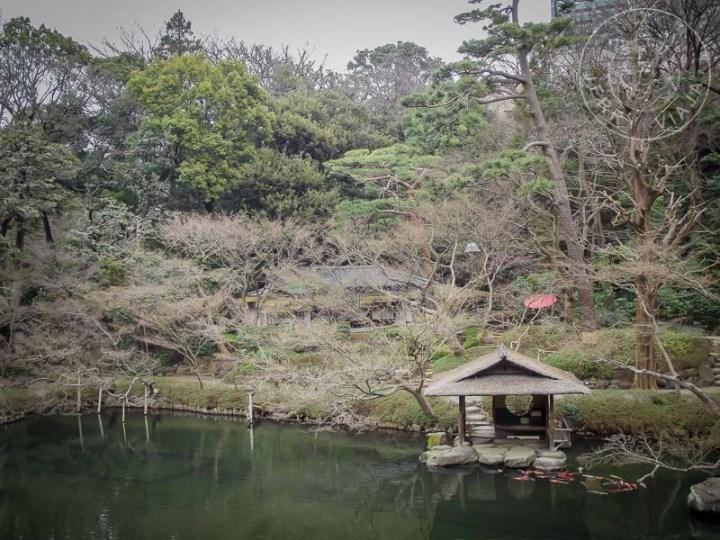 Lago del Jardin Happo-en.