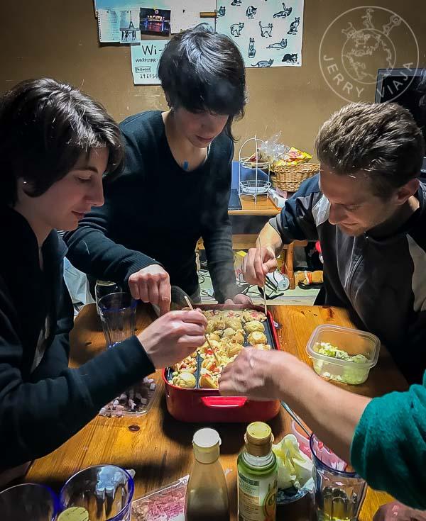 Aprendiendo a cocinar Takoyaki