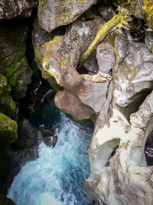 The Chasm, camino a Milford Sound
