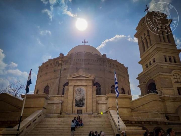 Iglesia Ortodoxa de San Jorge, Barrio Copto, El Cairo