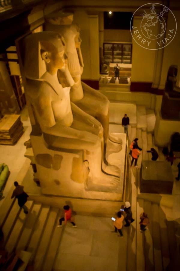 Colosos. Museo Egipcio