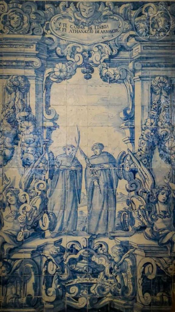 Azulejos en la Iglesia y Convento de Nossa Senhora da Graça.