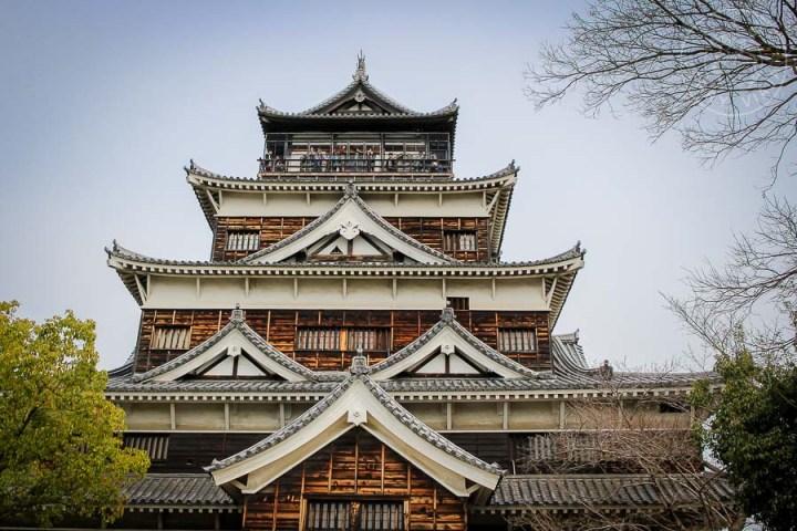 Castillo de Hiroshima, Japón