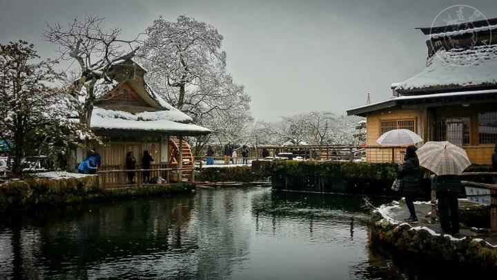 Wakuike en Oshino Hakkai, Region de los cinco lagos, Japon