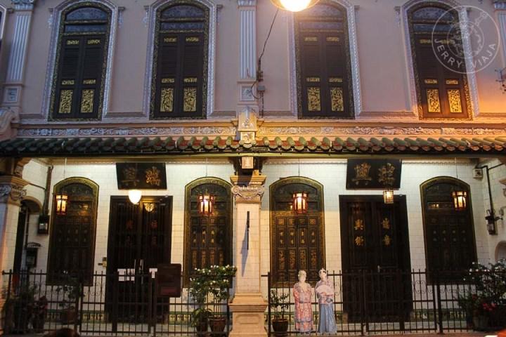 Museo de Baba y Nyonya en Melaka, Malasia.