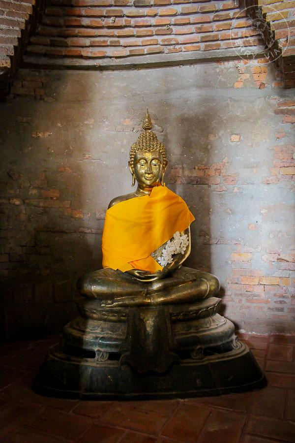 Wat Yai Chai Mongkol , Ayutthaya, Tailandia