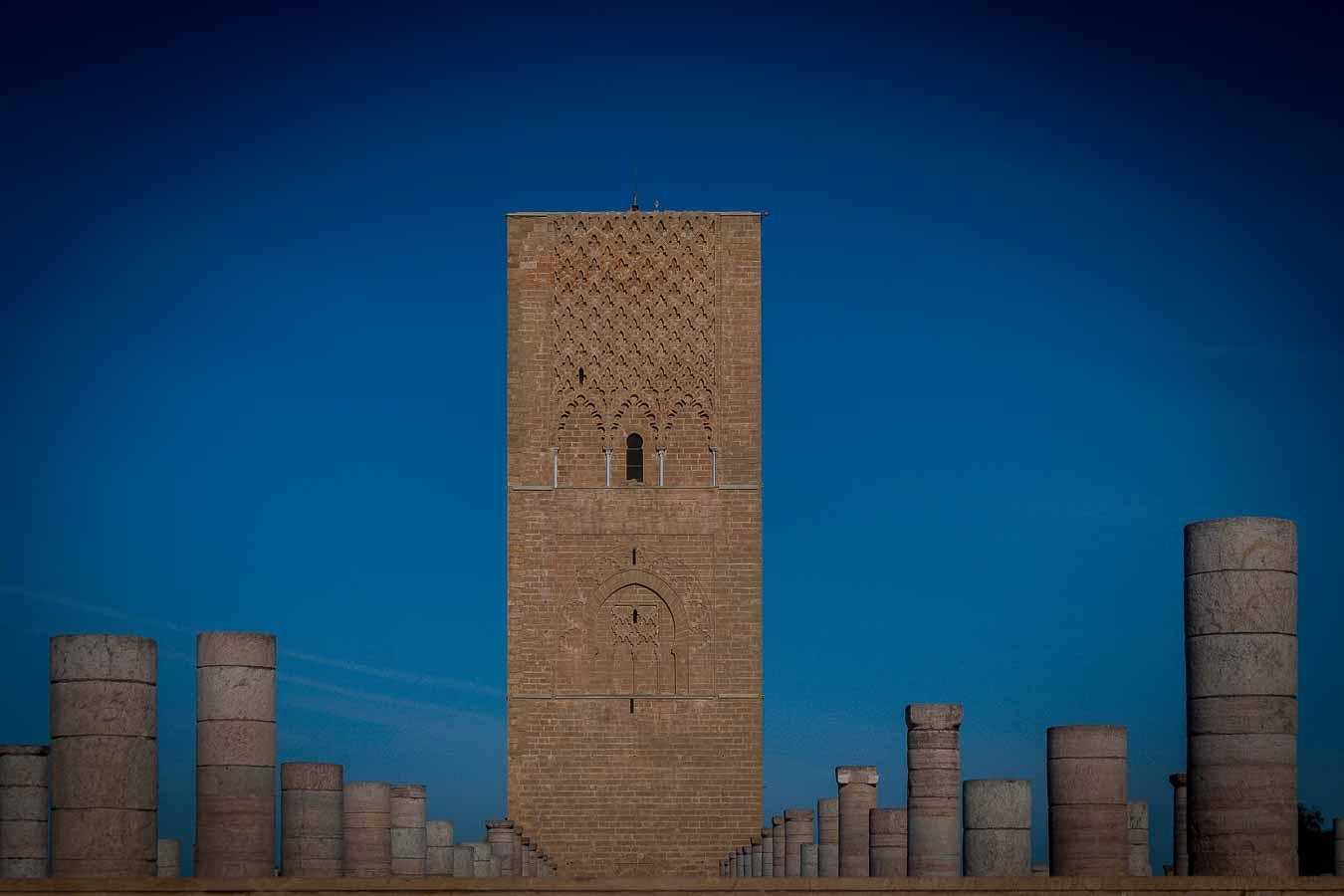 Torre de Hasan, Rabat, Marruecos
