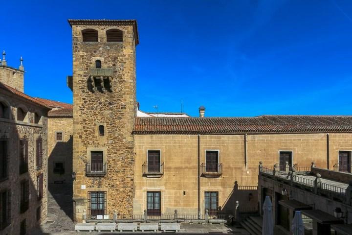 Palacio de los Golfines. Cáceres, extremadura, españa