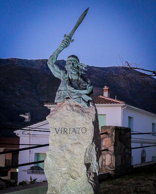 Escultura de Viriato, Jarandilla de la Vega.