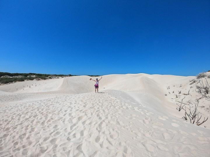 Playa Bolonia y sus dunas