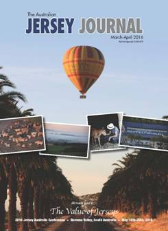 Front Cover Jersey Journal  March April