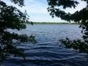 Mercer County Park lake