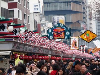 December - Asakusa awaits the new year