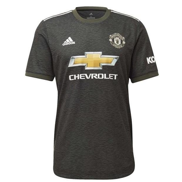20/21 Manchester United Away Jersey - Jersey Loco