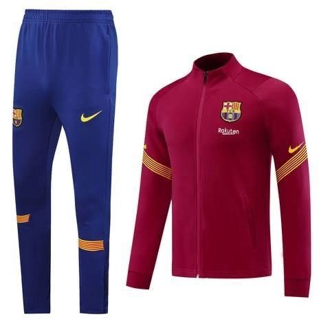 20/21 Barcelona Red Tracksuit - Jersey Loco