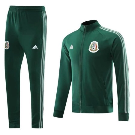 20/21 Mexico Green Tracksuit - Jersey Loco
