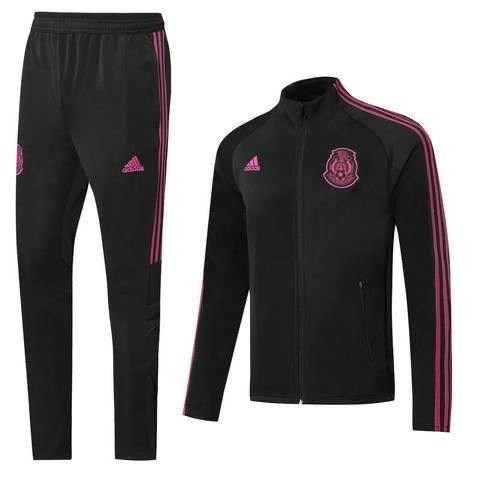 20/21 Mexico Pink/Black Tracksuit - Jersey Loco