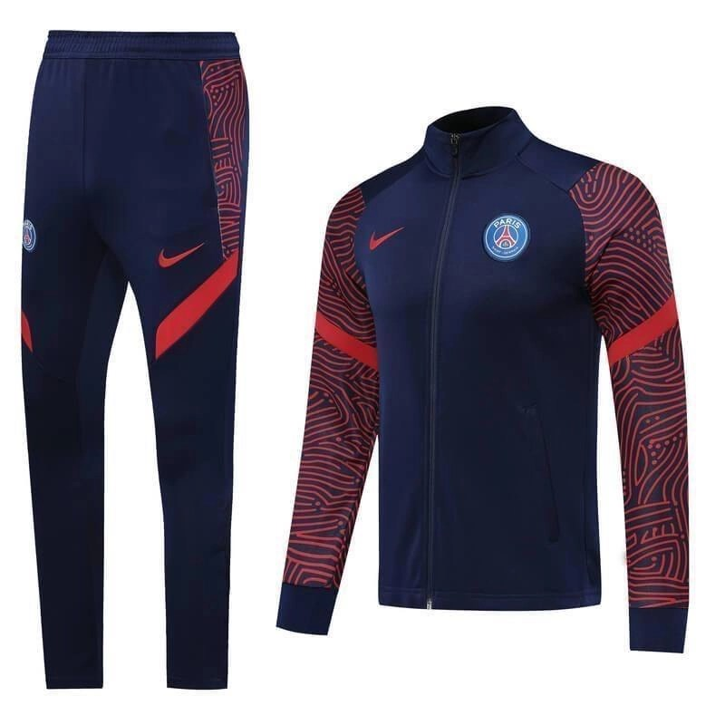 Copy of 20/21 PSG Red & Blue Tracksuit - Jersey Loco