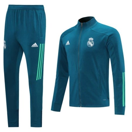 20/21 Real Madrid Blue Tracksuit - Jersey Loco
