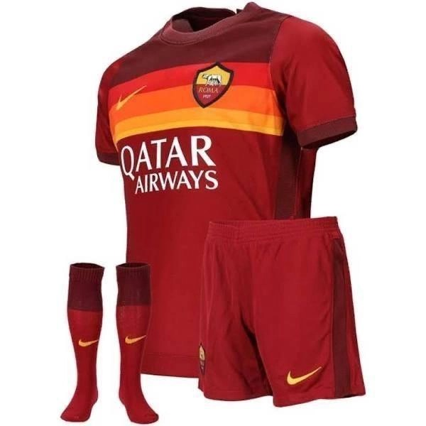 Copy of 20/21 AS Roma Home Kids Kit - Jersey Loco